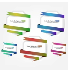 advertising label vector image vector image