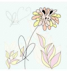 decorative card vector image vector image