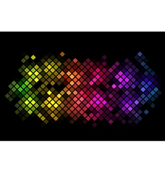 abstract background with colorful lights vector image vector image