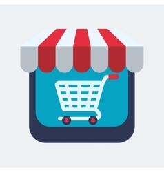 Shopping design Sales and Retail icon Isolated vector image