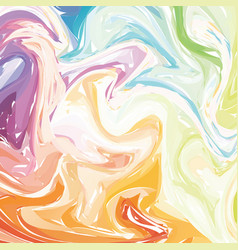 abstract artistic curl background with swirled vector image