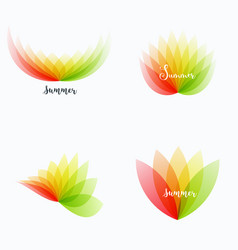 abstract design of colourful elements for vector image