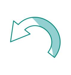 arrow cursor symbol vector image