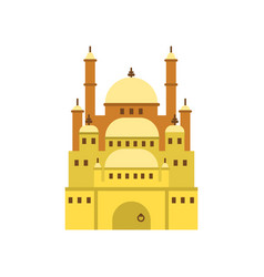 Cairo citadel ancient egypt symbol vector