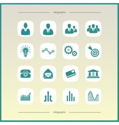 Economics and finance vector