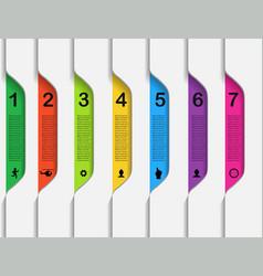 Set elements infographics vector