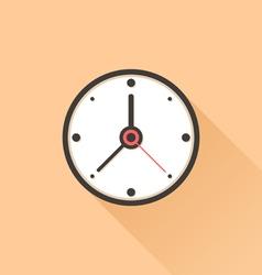 Watch flat vector image