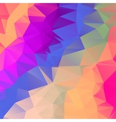 Abstract polygonal mosaic background EPS vector image