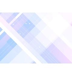 Blue purple geometric minimal background vector image