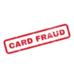 Card Fraud Text Rubber Stamp vector