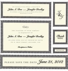 certificates vector image