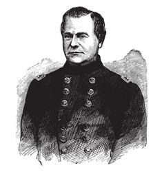 General richard j oglesby vintage vector