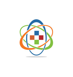 health lab vector image