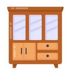 Kitchen showcase vector