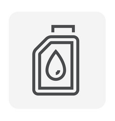 lubricant oil icon vector image