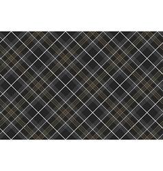 Pride of scotland hunting tartan diagonal seamless vector image