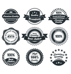 Retro Vintage Label collection vector image