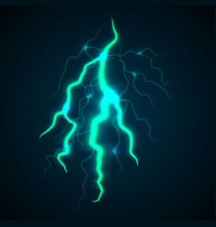 storm light thunderbolt concept background vector image