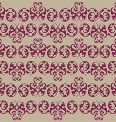 vintage seamless background vector image