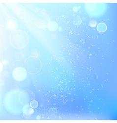 Beautiful winter background vector image