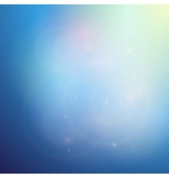Elegant abstract blue background vector image vector image