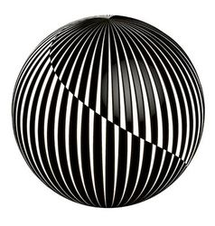 3D abstract ball vector image vector image
