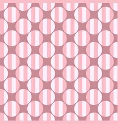 Abstract repeating circle pattern design vector