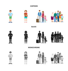 character and avatar symbol vector image