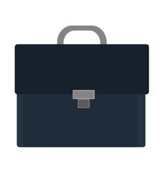 colorful business suitcase graphic vector image