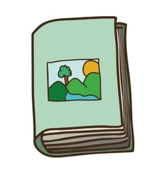 Education book icon vector