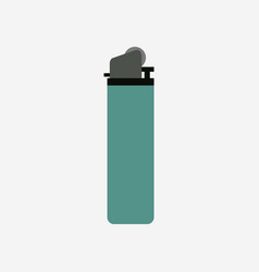 Lighter icon on white background vector
