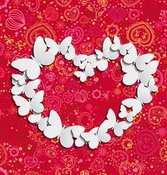 Love Butterflies vector image