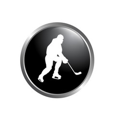 modern hockey logo logo for hockey team vector image