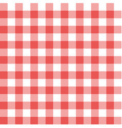 Picnic table cloth background for design montage vector