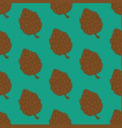 Pine cone pattern vector