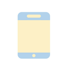 Smartphone technology to talk with people vector