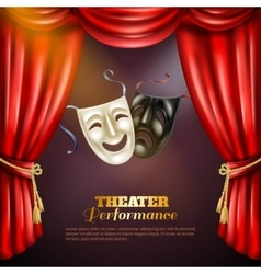 Theatre Background vector