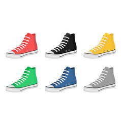 mens shoes keds vector image