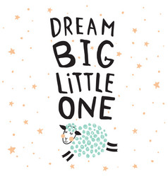 dream big sheep vector image