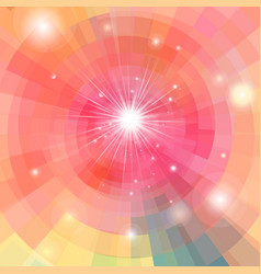 abstract bright colorful kaleidoscope vector image