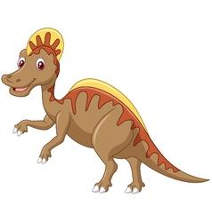 Aggressive cretaceous dinosaur spinosaurus or spin vector