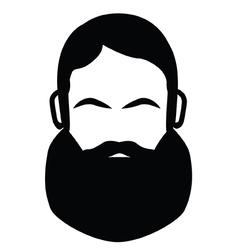 Biker Beard vector image