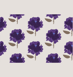 floral seamless pattern vector image