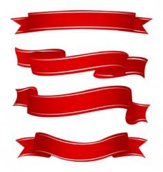 Shapes ribbons vector