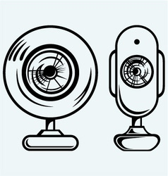 Webcam vector