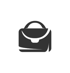 Suitcase icon isolated on white background vector image vector image