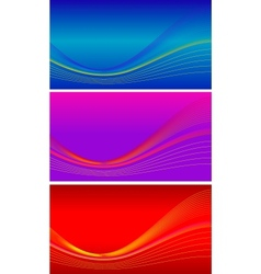 background sets vector image vector image