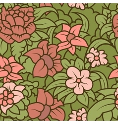 Seamless hand-drawn retro texture for your design vector image