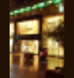 blurred night street vector image