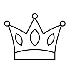 crown jewelry royal monarch image vector image